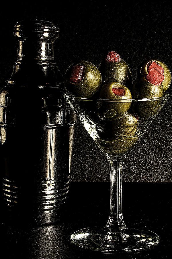 Shaker Photograph - Hold The Booze by David Patterson