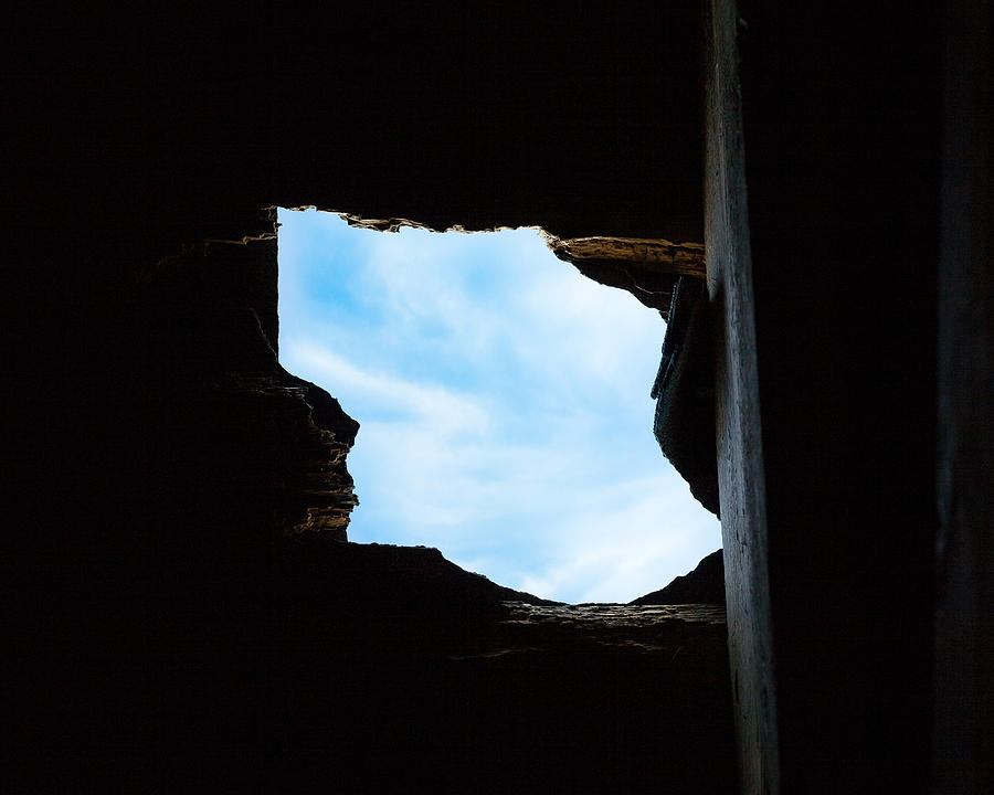 Hole in the Roof  by Gary Heller