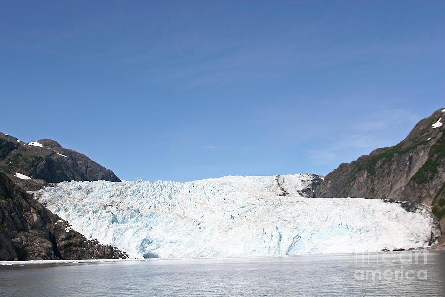 Glacier Photograph - Holgate Glacier by Russell Christie