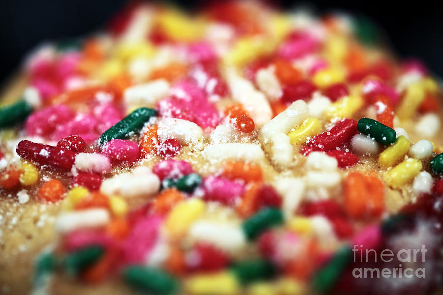 Cookie Photograph - Holiday Cookie by John Rizzuto