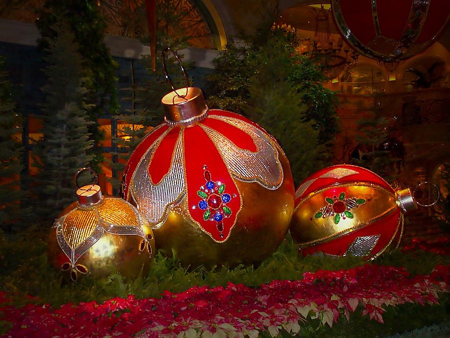 Holiday Photograph - Holiday Decorations by Lucinda Walter