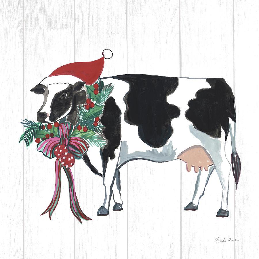 Animals Painting - Holiday Farm Animals Iv by Farida Zaman