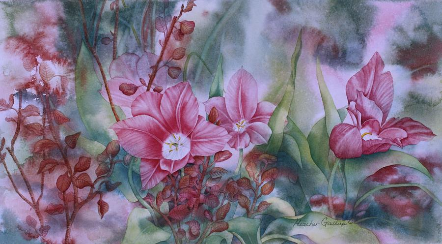 Spring Blooms Painting - Holland Blooms by Heather Gallup