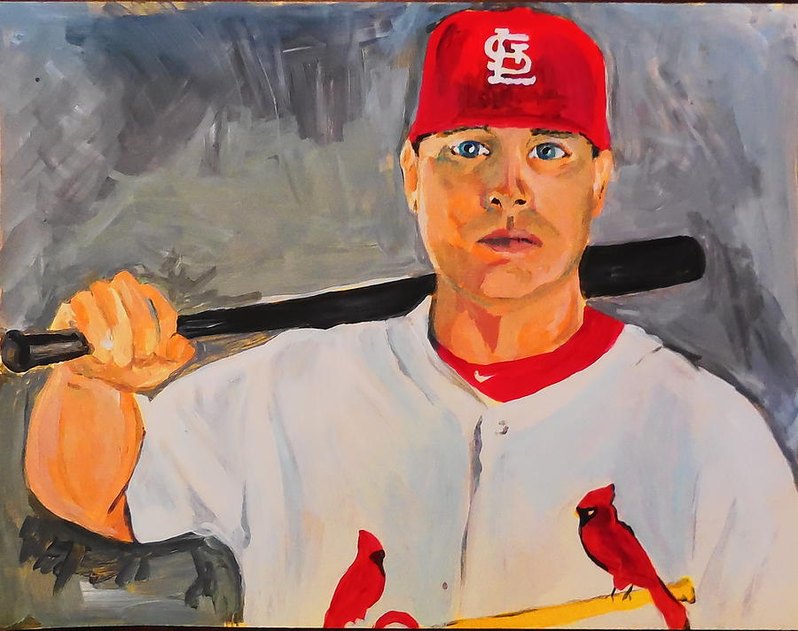 Matt Holliday Painting - Holliday by Made by Marley