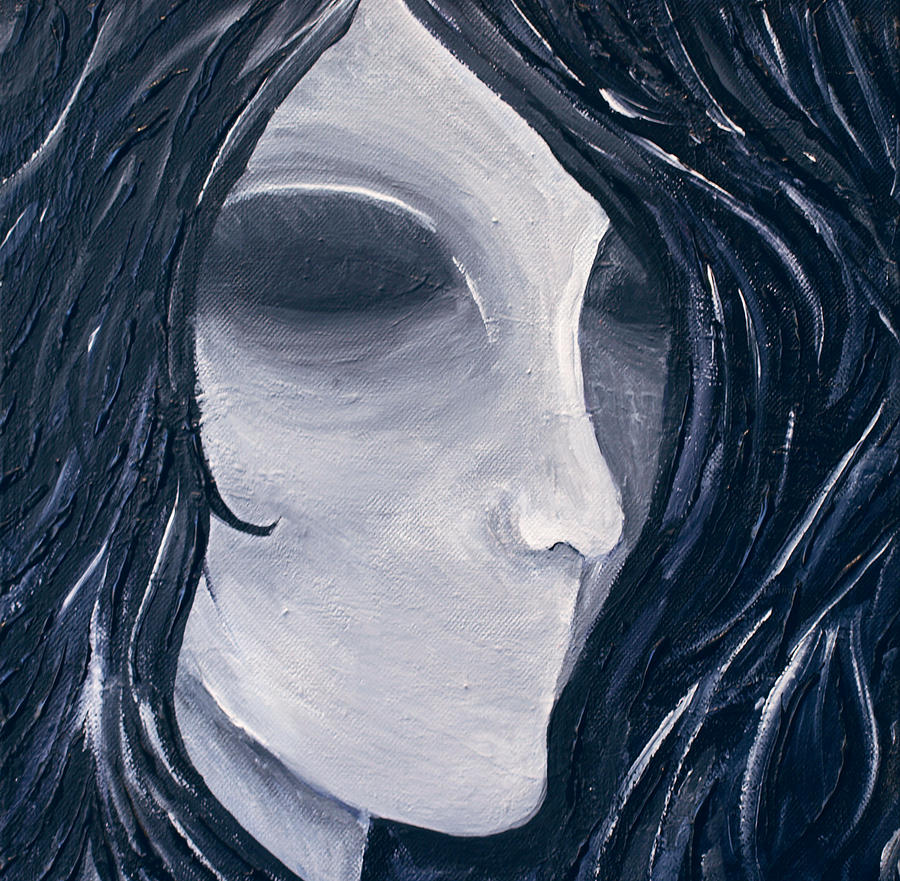 Painting Painting - Hollow by Monica Veraguth