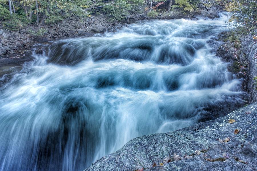 Kawagama Lake Photograph - Hollow River Rapids by Lee Burgess