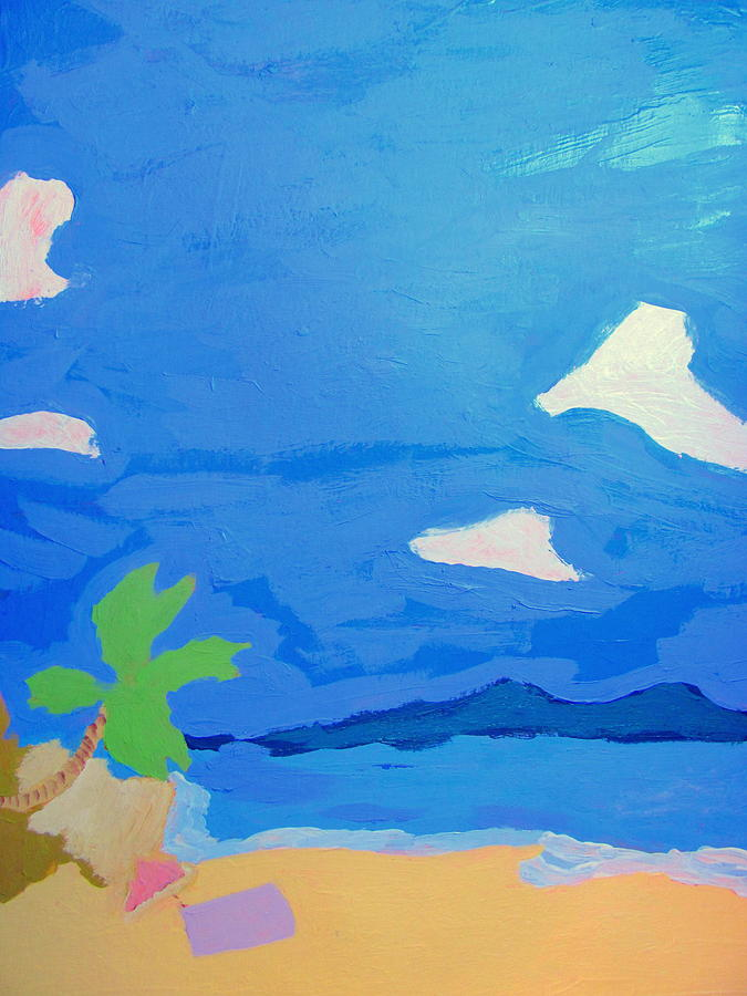 Acrylic Painting - Hollywood Beach View Three by Amy Bradley