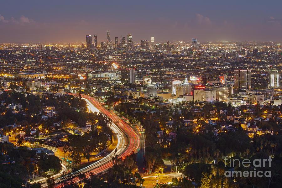 Hollywood Bowl Overlook Photograph - Hollywood Bowl Overlook by Shishir Sathe