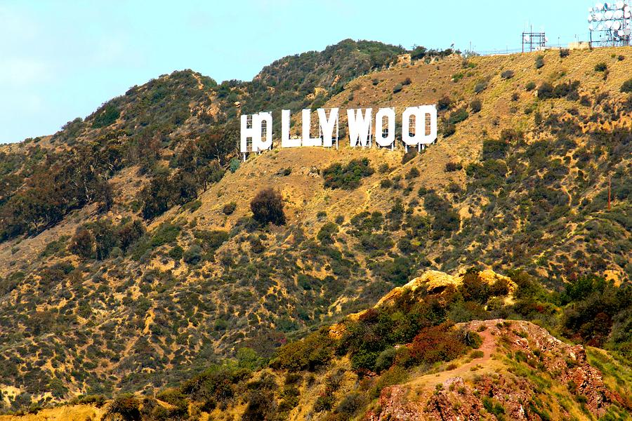 Hollywood Photograph - Hollywood Sign by Gary Dunkel