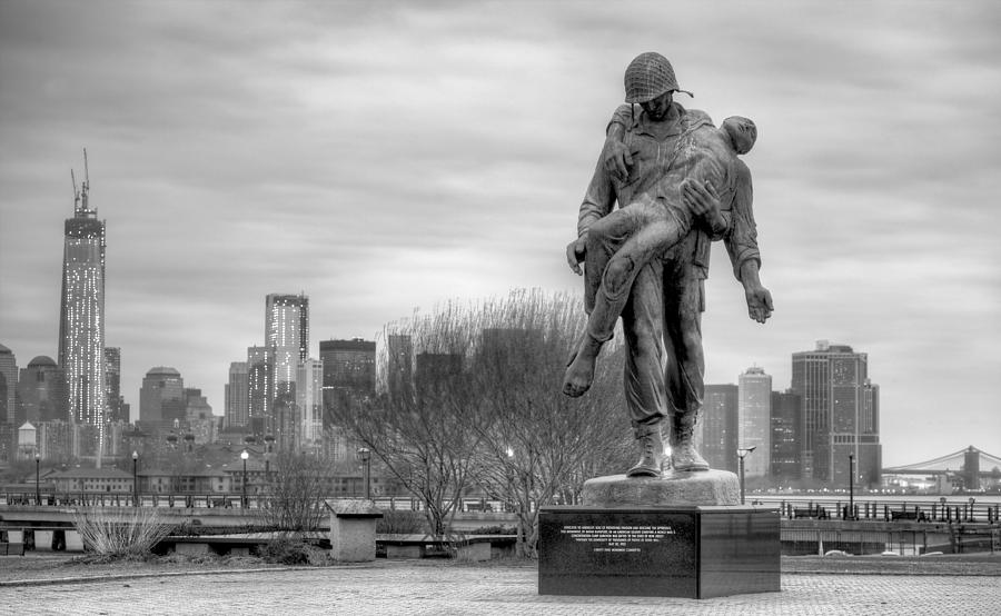 Liberation Memorial Photograph - Holocaust Memorial  by JC Findley