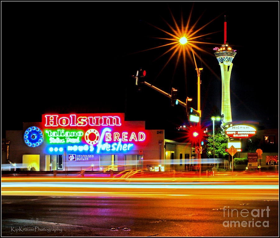 Holsum Photograph - Holsum Las Vegas II by Kip Krause