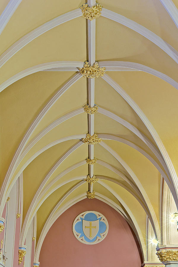 Altar Photograph - Holy Arches by Susan Candelario