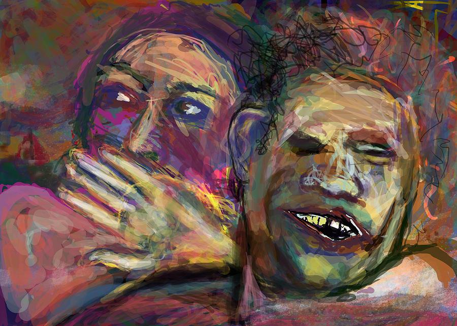 Man Digital Art - Holy Crap by James Thomas