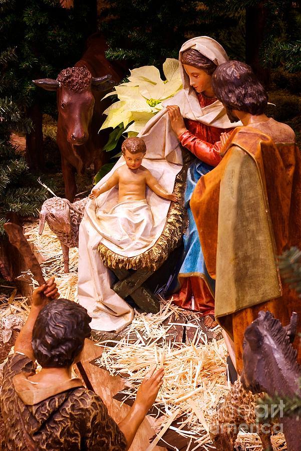 Holy Family Nativity by Frank J Casella
