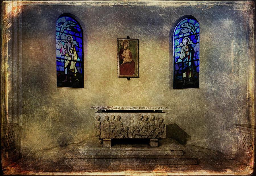Architecture Photograph - Holy Grunge by Roberto Pagani