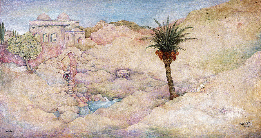 Ancient Painting - Holy Land by Michoel Muchnik