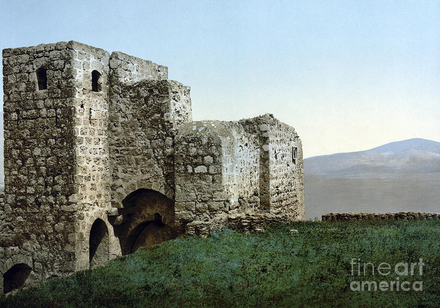 1895 Photograph - Holy Land: Ruins by Granger