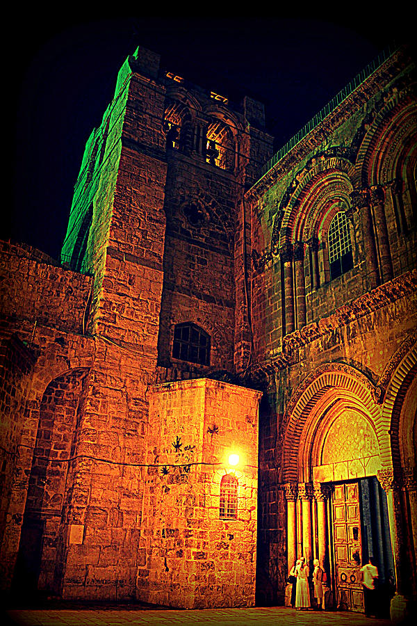 Holy Sepulchre Photograph - Holy-sepulchre by Amr Miqdadi