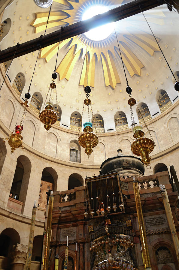 Holy Sepulchre In Jerusalem Photograph by Madzia71