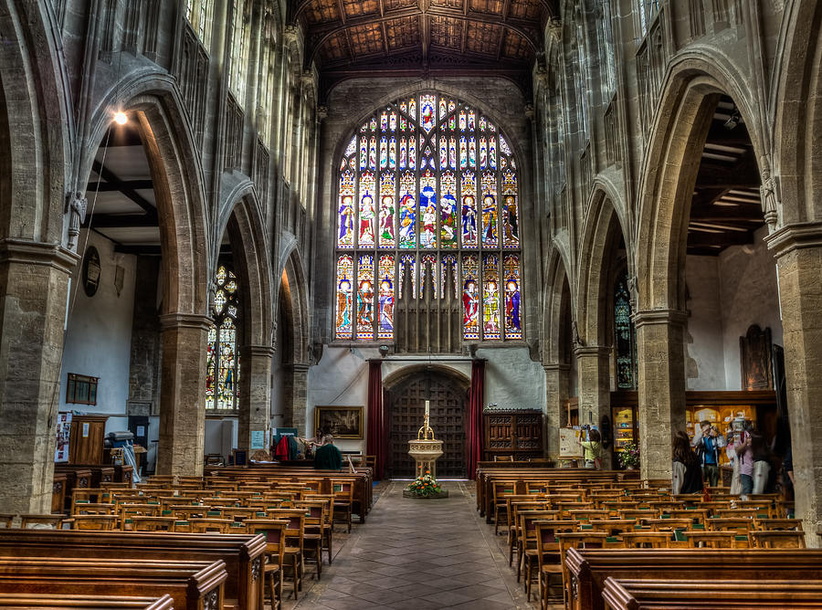Photography Photograph - Holy Trinity by Trevor Wintle