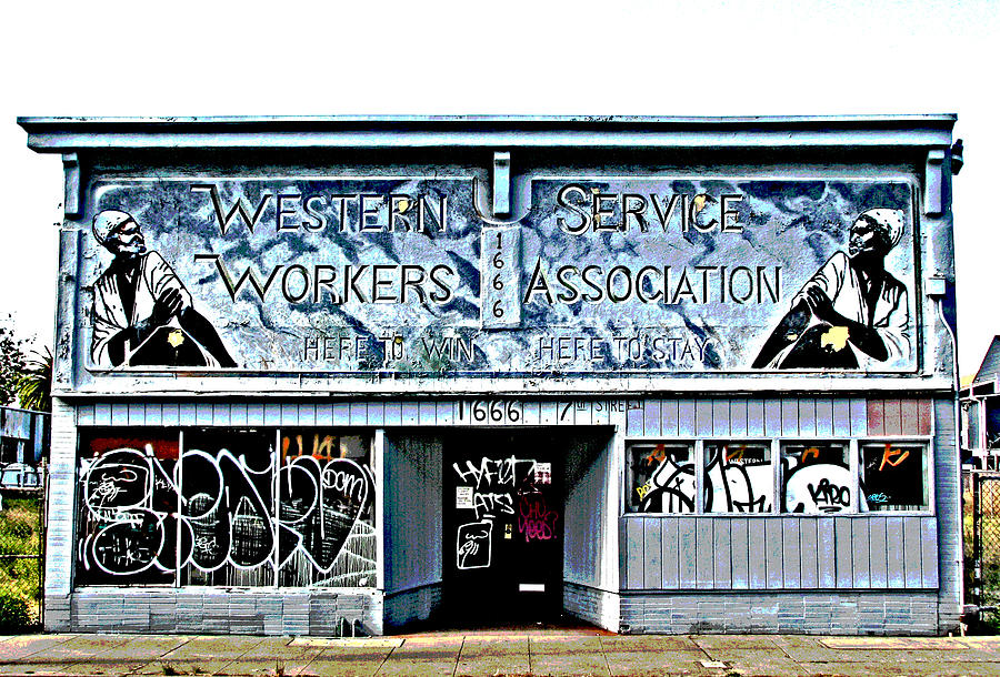 Western Photograph - Homage To Labor by Samuel Sheats