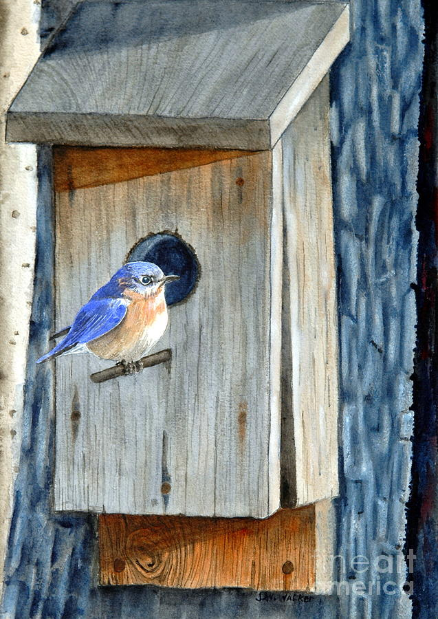 Home Painting - Home Again by John W Walker