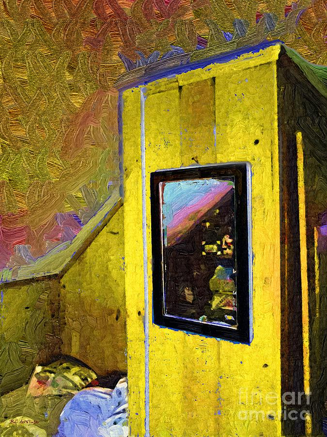 Room Painting - Home Again by RC deWinter