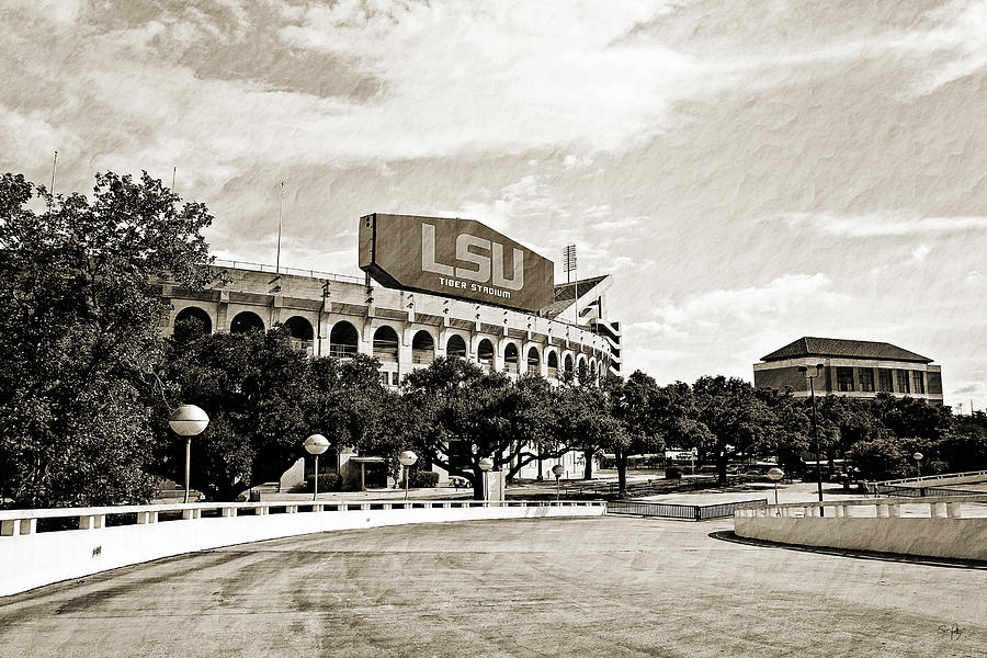 Lsu Photograph - Home Field Advantage by Scott Pellegrin