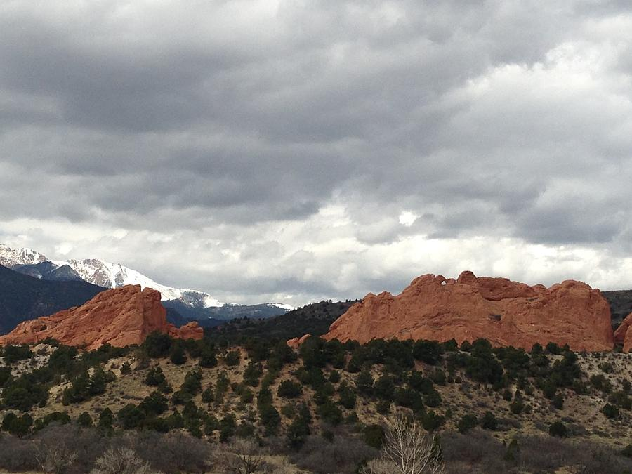 Garden Of The Gods Photograph - Home by Gina Bonelli