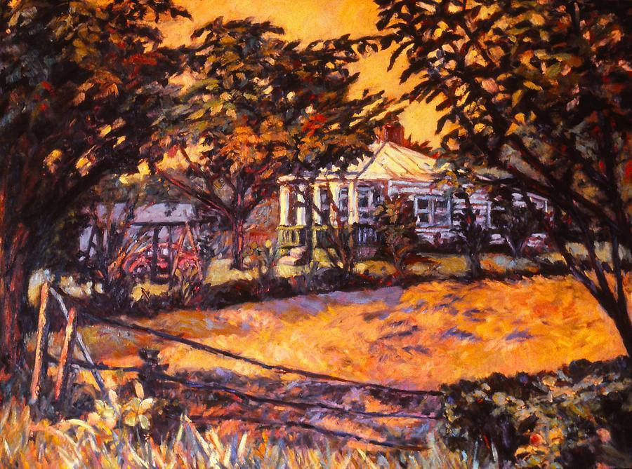 Kendall Kessler Painting - Home In Christiansburg by Kendall Kessler