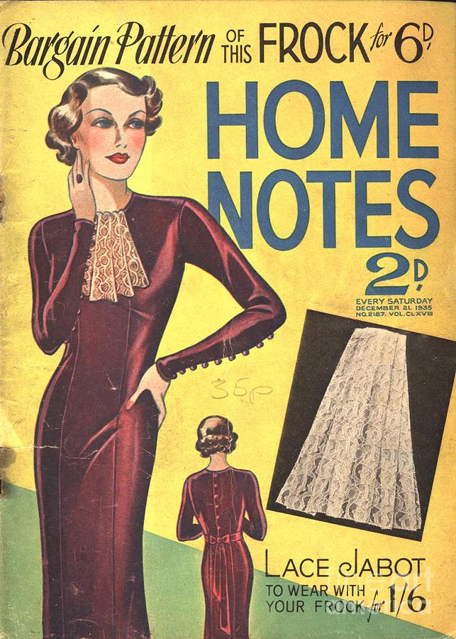 1940�s Drawing - Home Notes 1940s Uk Women At War Womens by The Advertising Archives