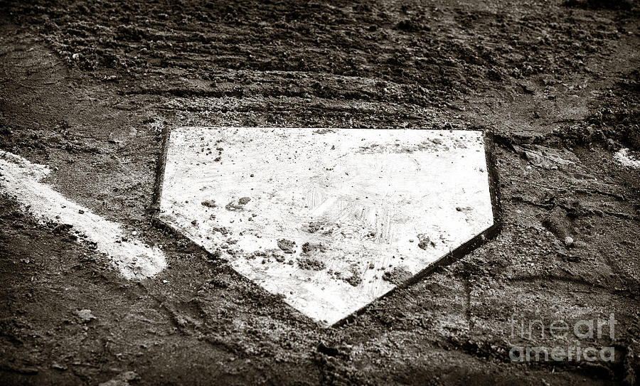 Home Plate Photograph - Home Plate by John Rizzuto