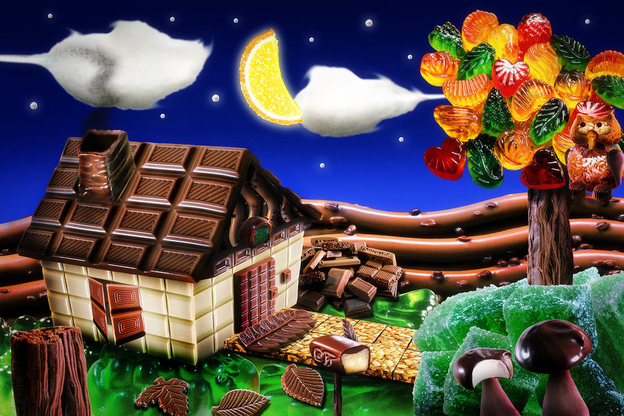 Spring Digital Art - Home Sweet Home... by Alessandro Della Pietra