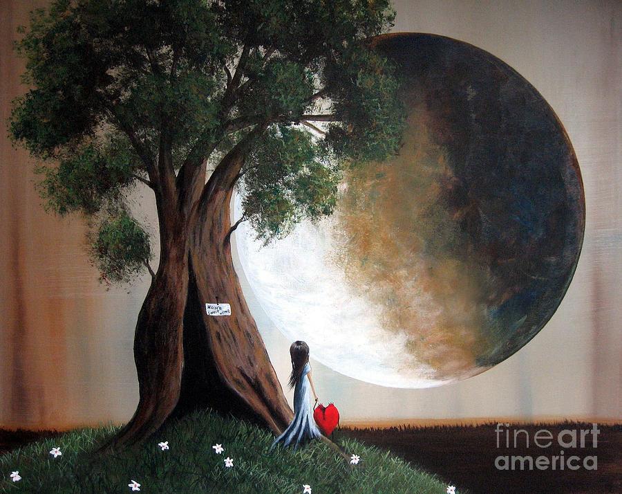 Fairy Tale Painting - Home Sweet Home By Shawna Erback by Shawna Erback