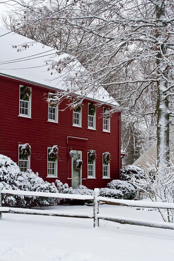 Christmas Photograph - Home Sweet Home by Kristine Patti