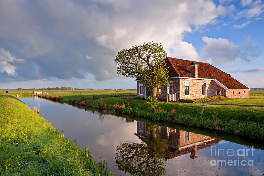 Farm Photograph - Home Sweet Home by Olha Rohulya