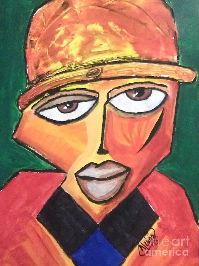 Homeboy Painting - Homeboy by Anthony Lewis