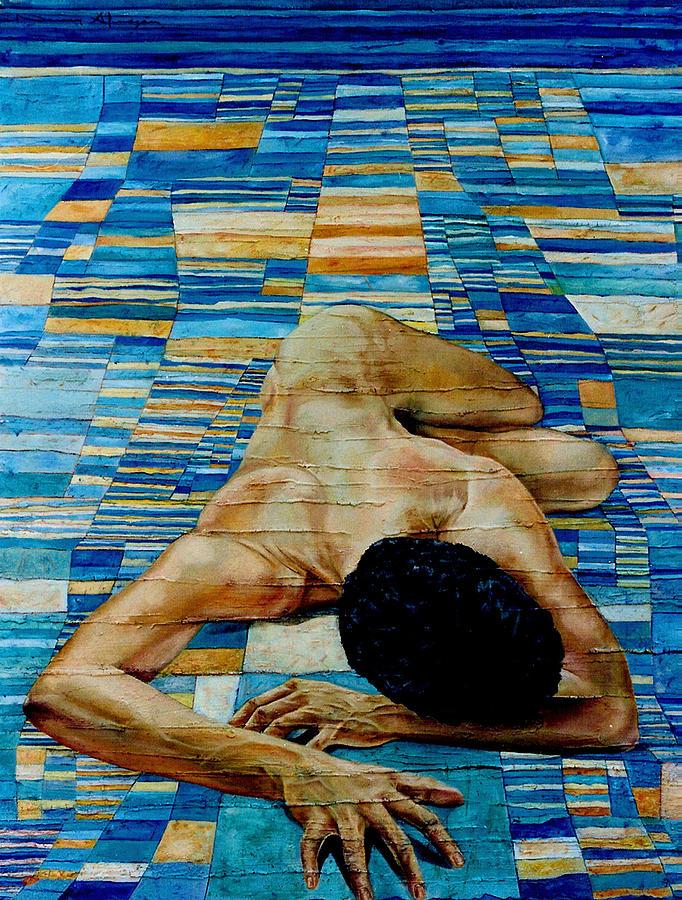 Klee Painting - Homenaje A Paul Klee by Nancy Almazan