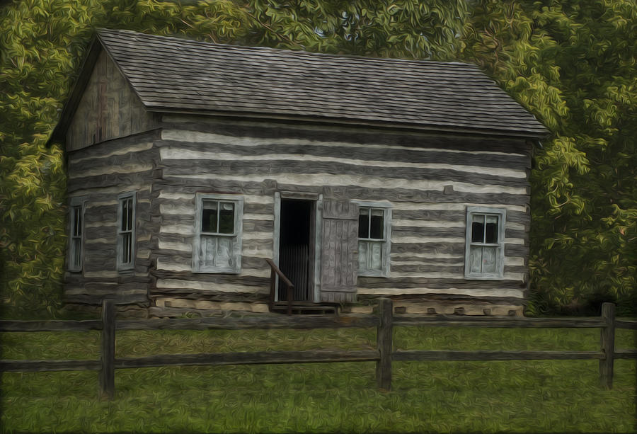 Landscape Painting - Homestead 3 by Jack Zulli