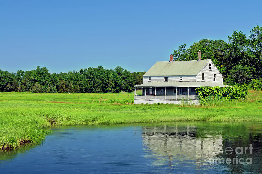 Country Photograph - Homestead by Charles Dobbs