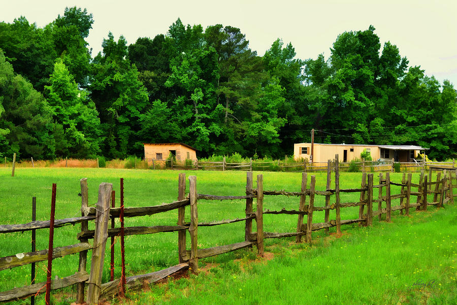 Nature Photograph - Homestead by Paulette B Wright