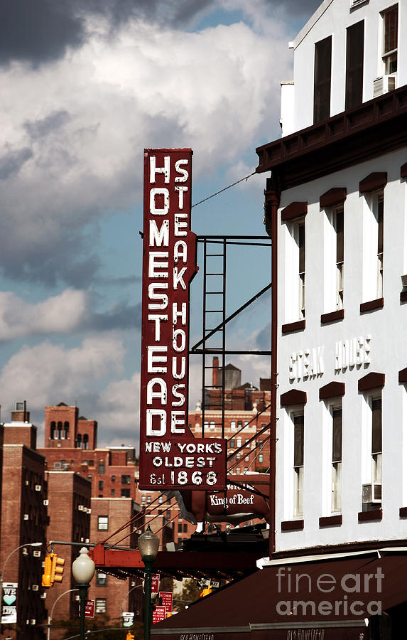 Photographer Photograph - Homestead Steakhouse by John Rizzuto