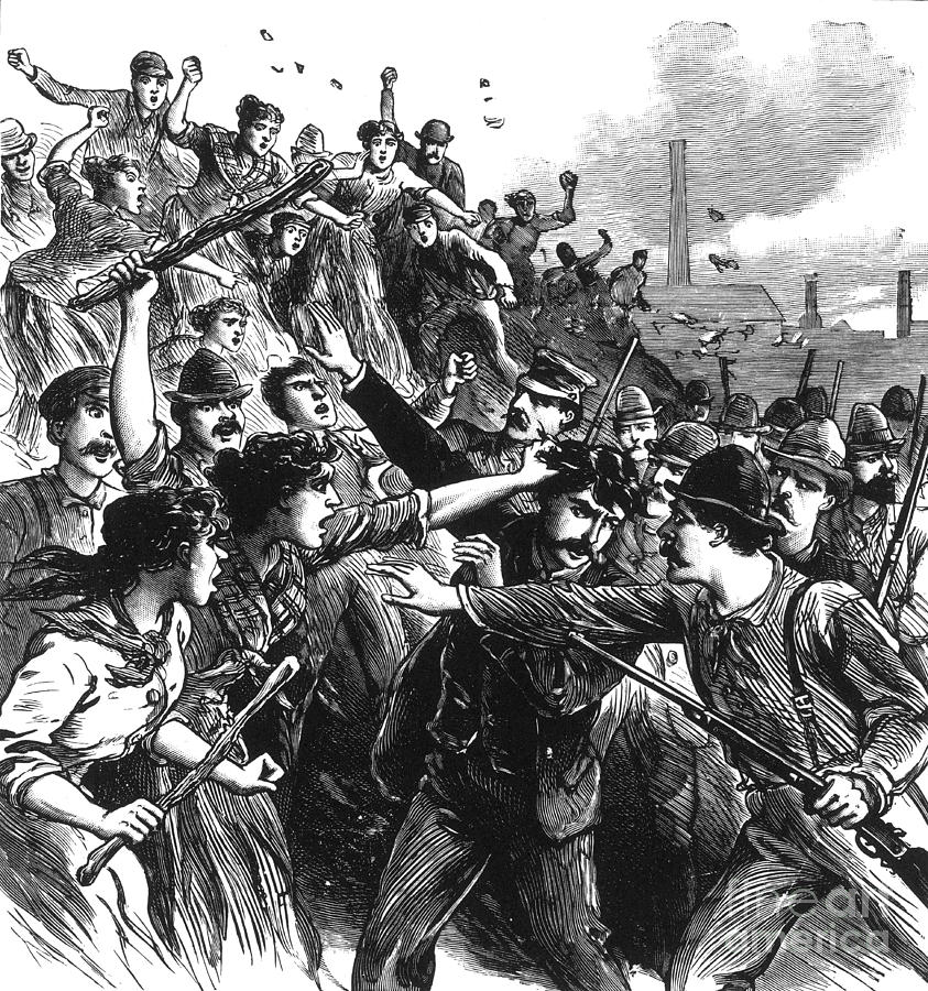 History Photograph - Homestead Strike, 1892 by Photo Researchers