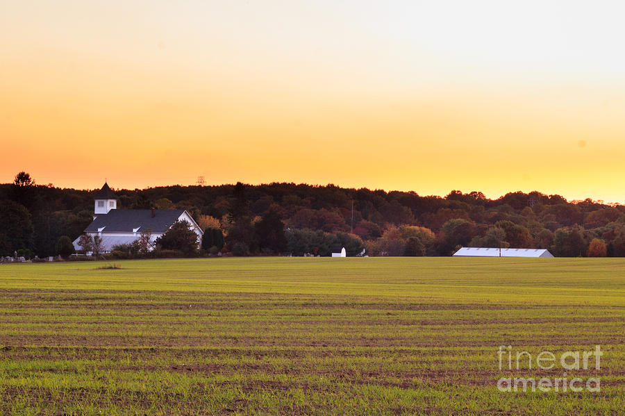 Farm Photograph - Hometown by Lucy Raos