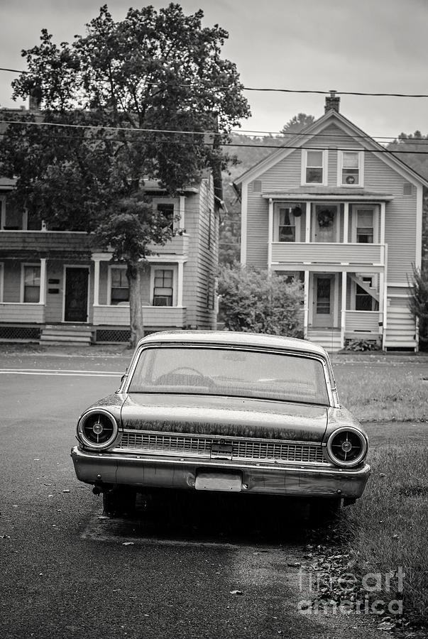 Double Photograph - Hometown Usa Platium Print by Edward Fielding