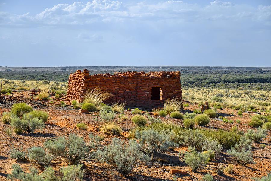 Ruins Photograph - Homolovi Ruins State Park Az by Christine Till