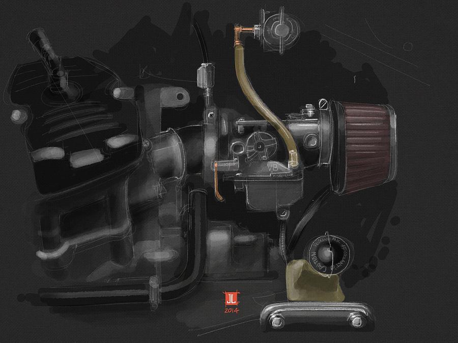 Honda Cx500 Carb by Jeremy Lacy