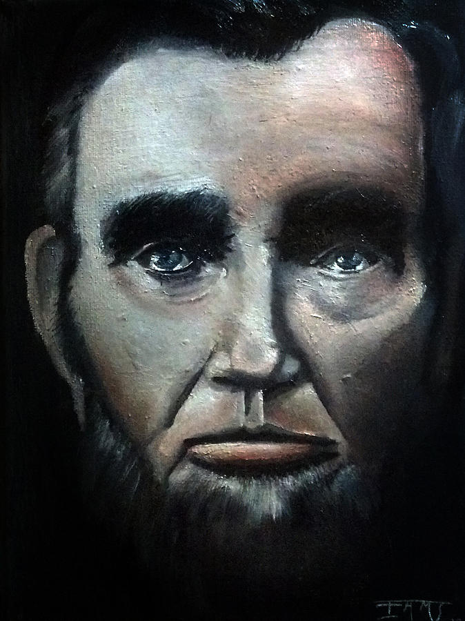 Honest Abe Painting By Iams