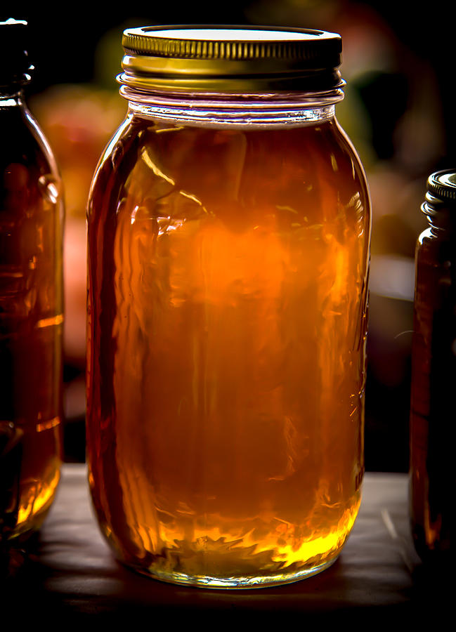 Honey Jar Photograph - Honey Jar by Karen Wiles