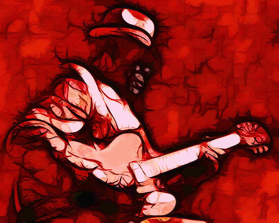 Music Digital Art - Honeyboy by Terry Fiala
